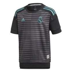 Maillot avant match junior Real Madrid gris 2017/18