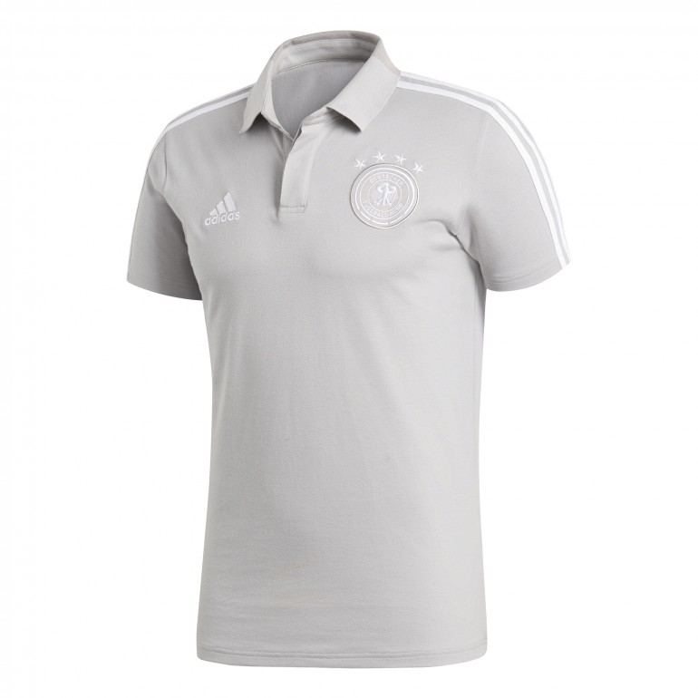 Polo Allemagne gris 2018