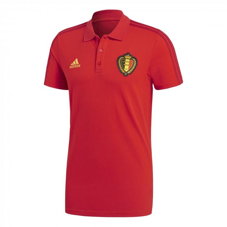 Polo Belgique rouge 2018