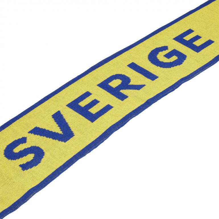 Echarpe Suède jaune 2018