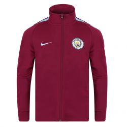 Veste survêtement junior Manchester City mauve 2017/18