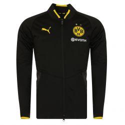 Veste survêtement Dortmund noir 2017/18
