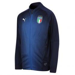 Veste survêtement junior Italie bleu 2018