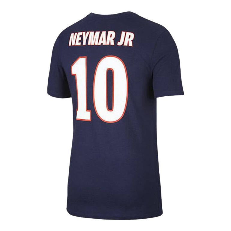 t shirt psg neymar bleu 2017 18 sur. Black Bedroom Furniture Sets. Home Design Ideas