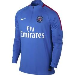 Sweat zippé PSG bleu ciel 2017/18