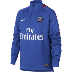 Sweat zippé junior PSG bleu ciel 2017/18