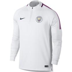 Sweat zippé Manchester City blanc 2017/18
