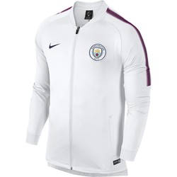 Veste survêtement Manchester City blanc 2017/18