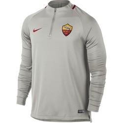 Sweat zippé AS Roma gris 2017/18