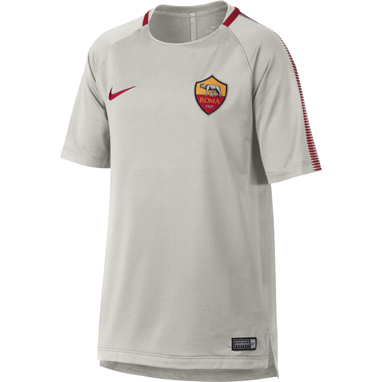 Maillot entraînement junior AS Roma gris 2017/18