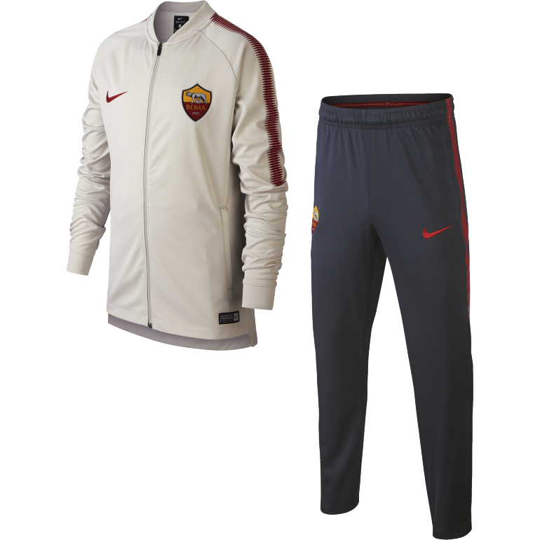 Ensemble survêtement junior AS Roma gris 2017/18