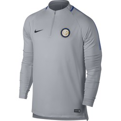 Sweat zippé Inter Milan gris 2017/18