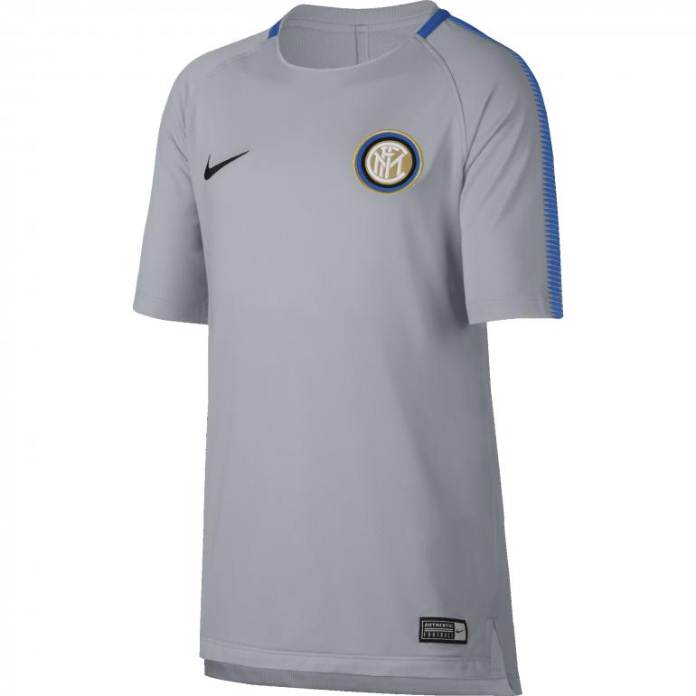 Maillot entraînement junior Inter Milan gris 2017/18