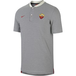 Polo AS Roma authentique gris 2017/18