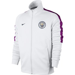 Veste survêtement Manchester City N98 blanc 2017/18