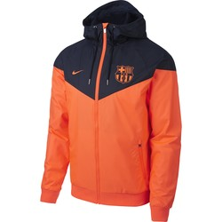 Coupe vent FC Barcelone orange 2017/18