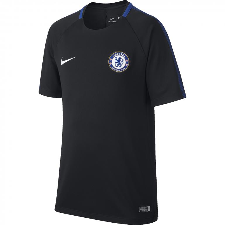 Maillot entraînement junior Chelsea noir 2017/18