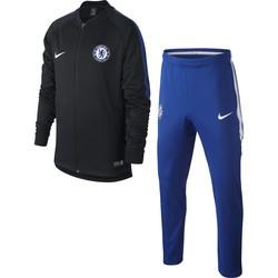 Ensemble survêtement junior Chelsea noir bleu 2017/18