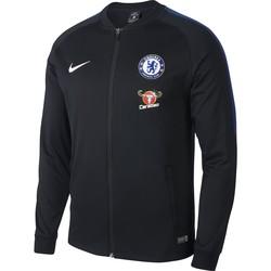 Veste survêtement Chelsea noir 2017/18