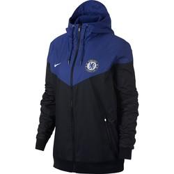 Coupe vent Chelsea bleu noir 2017/18
