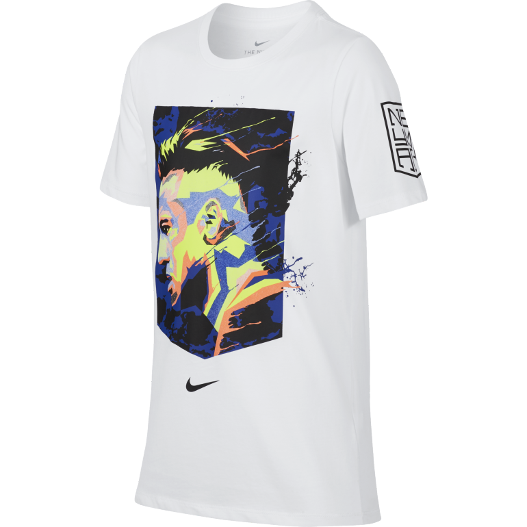 T-shirt Neymar graphic blanc 2017/18