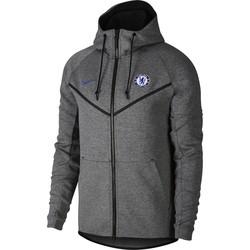 Veste à capuche Chelsea Tech Fleece gris 2017/18