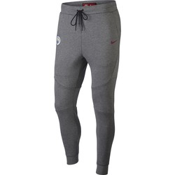 Pantalon survêtement Manchester City Tech Fleece gris 2017/18