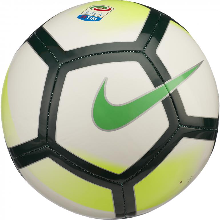Ballon Serie A Pitch blanc vert 2017/18