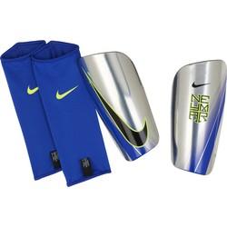 Protège tibias Nike Mercurial bleu gris 2017/18