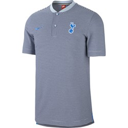polo Tottenham authentique bleu ciel 2017/18