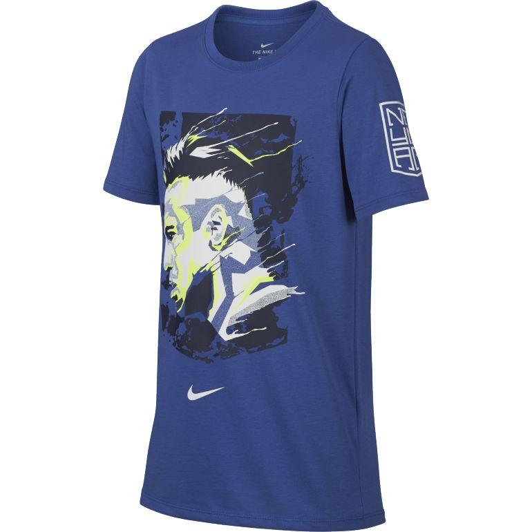 T-shirt junior Neymar graphic bleu 2017/18