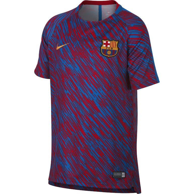 Maillots entraînement junior FC Barcelone graphic 2017/18
