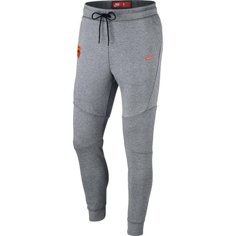 Pantalon survêtement FC Barcelone Tech Fleece gris 2017/18