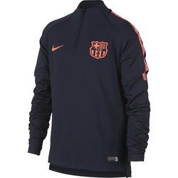 Sweat zippé junior FC Barcelone bleu foncé 2017/18