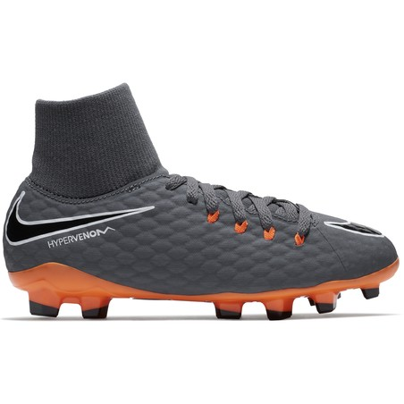 Hypervenom Phantom III junior Academy montantes FG  noir orange
