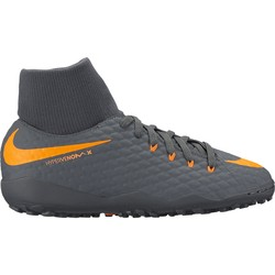 Hypervenom PhantomX III junior Academy montantes turf noir orange