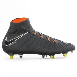 Hypervenom Phantom III Elite montantes Anti-Clog SG-Pro noir orange