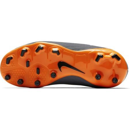 Hypervenom Phantom III junior Academy FG noir orange
