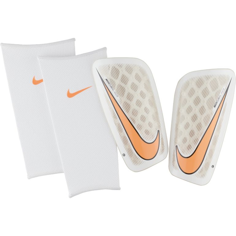 Protège tibias Nike Mercurial Flylite blanc 2017/18