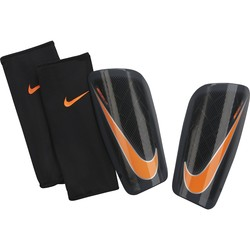 Protège tibias Nike Mercurial noir orange 2017/18