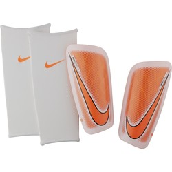 Protège tibias Nike Mercurial orange blanc 2017/18