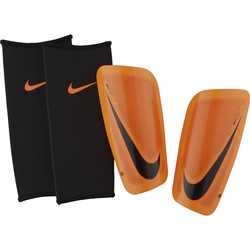 Protège tibias Nike Mercurial orange noir 2017/18