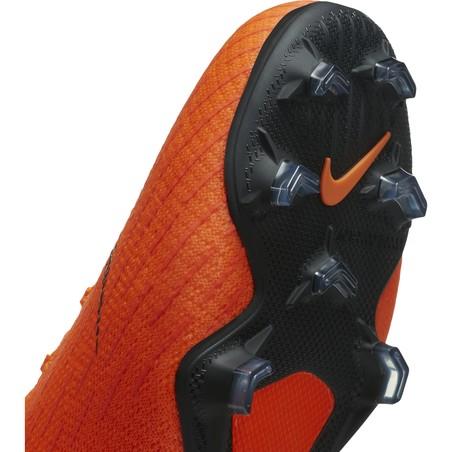 Mercurial Superfly VI junior Elite montantes FG orange