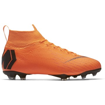 Mercurial Superfly VI junior Elite montantes FG orange
