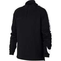 Sweat zippé junior Nike Squad noir blanc 2017/18