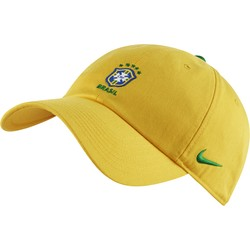 Casquette Brésil Heritage86 jaune 2018