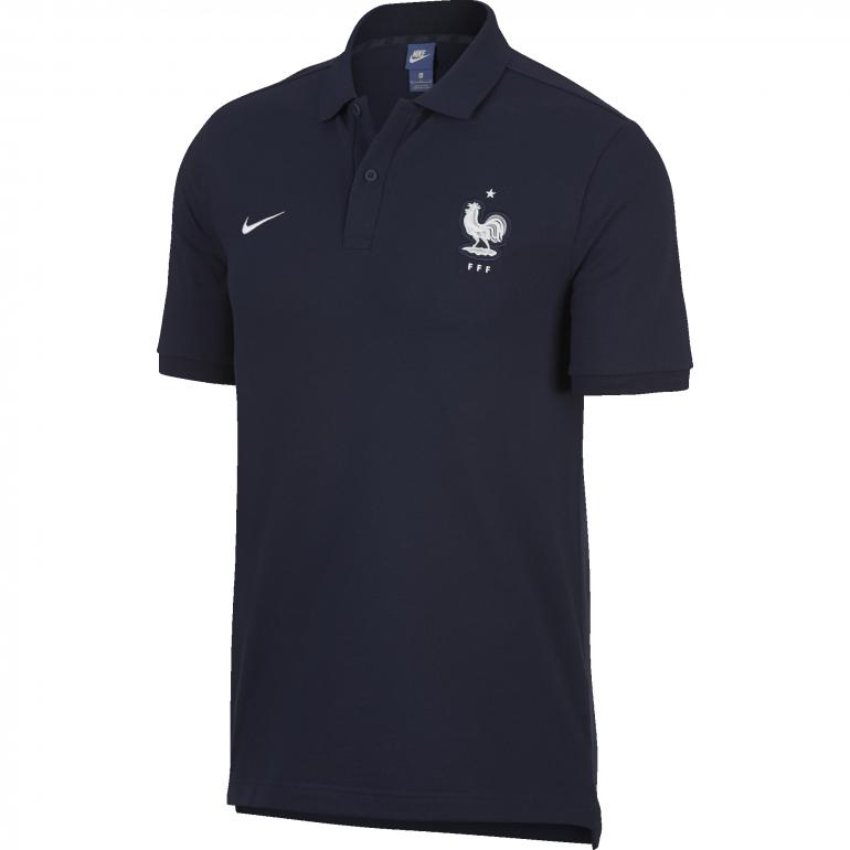 Polo Equipe de France bleu 2018