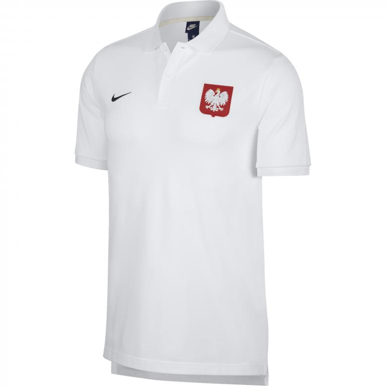 Polo Pologne blanc 2018