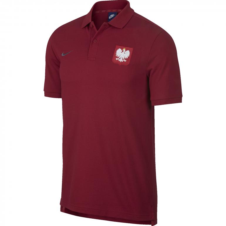 Polo Pologne rouge 2018