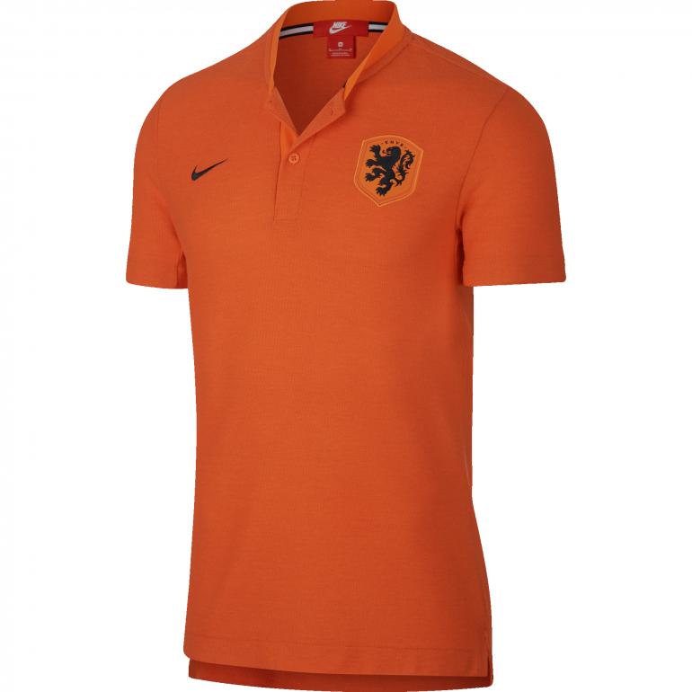 Polo Pays Bas orange 2018